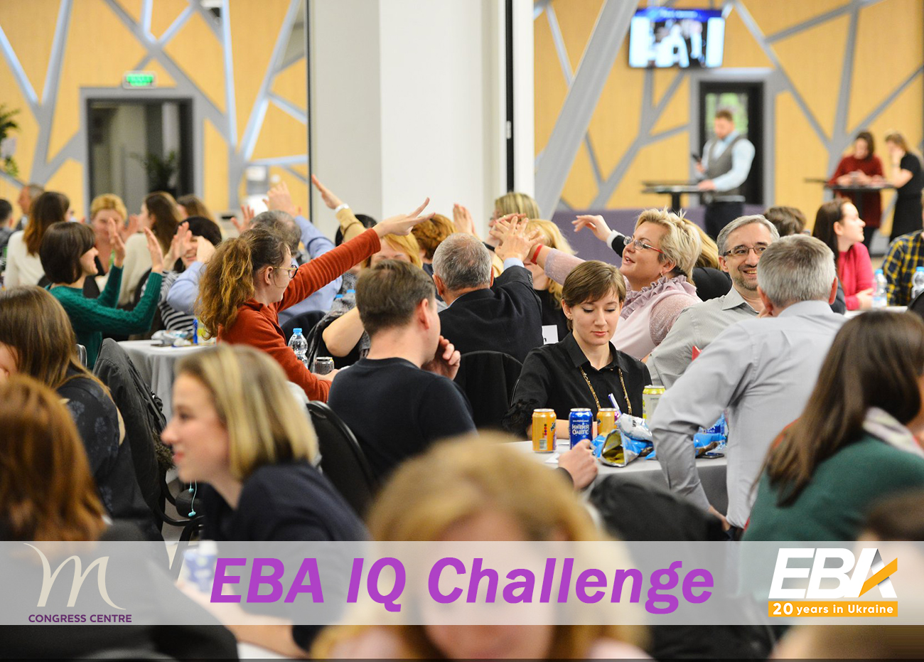 EBA IQ Challenge: Teams Race - у Mercure Congress Centre